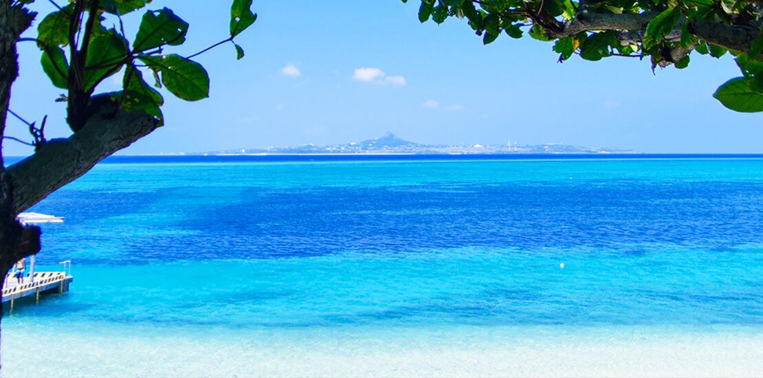備瀬周辺のビーチ